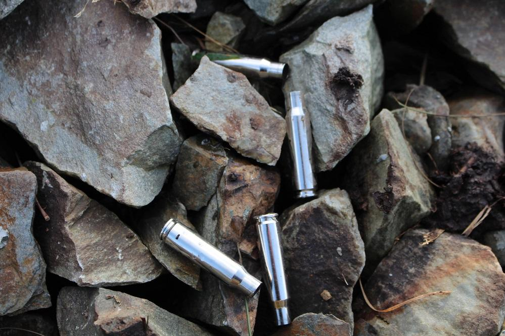 empty cartridge cases