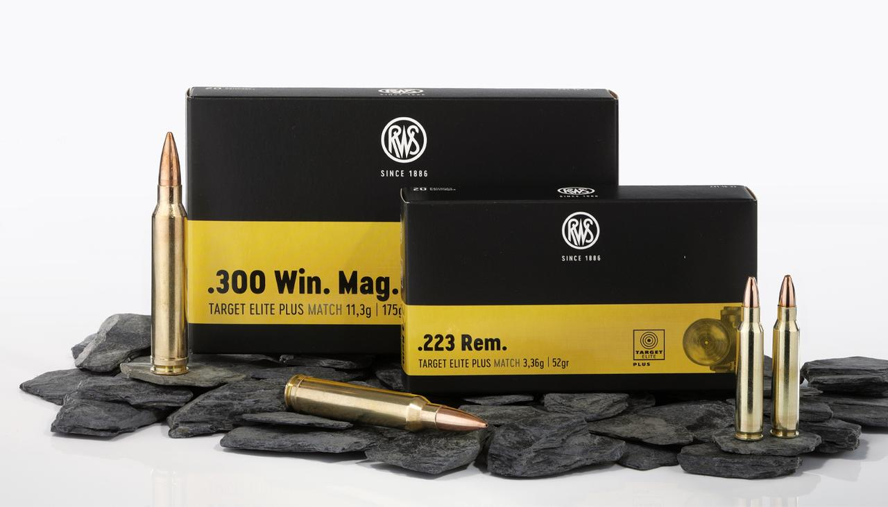 RWS TARGET ELITE PLUS in .223 Rem. und .300 Win. Mag.