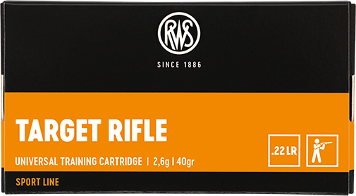 Package of the RWS .22 Target Rifle 2,6g