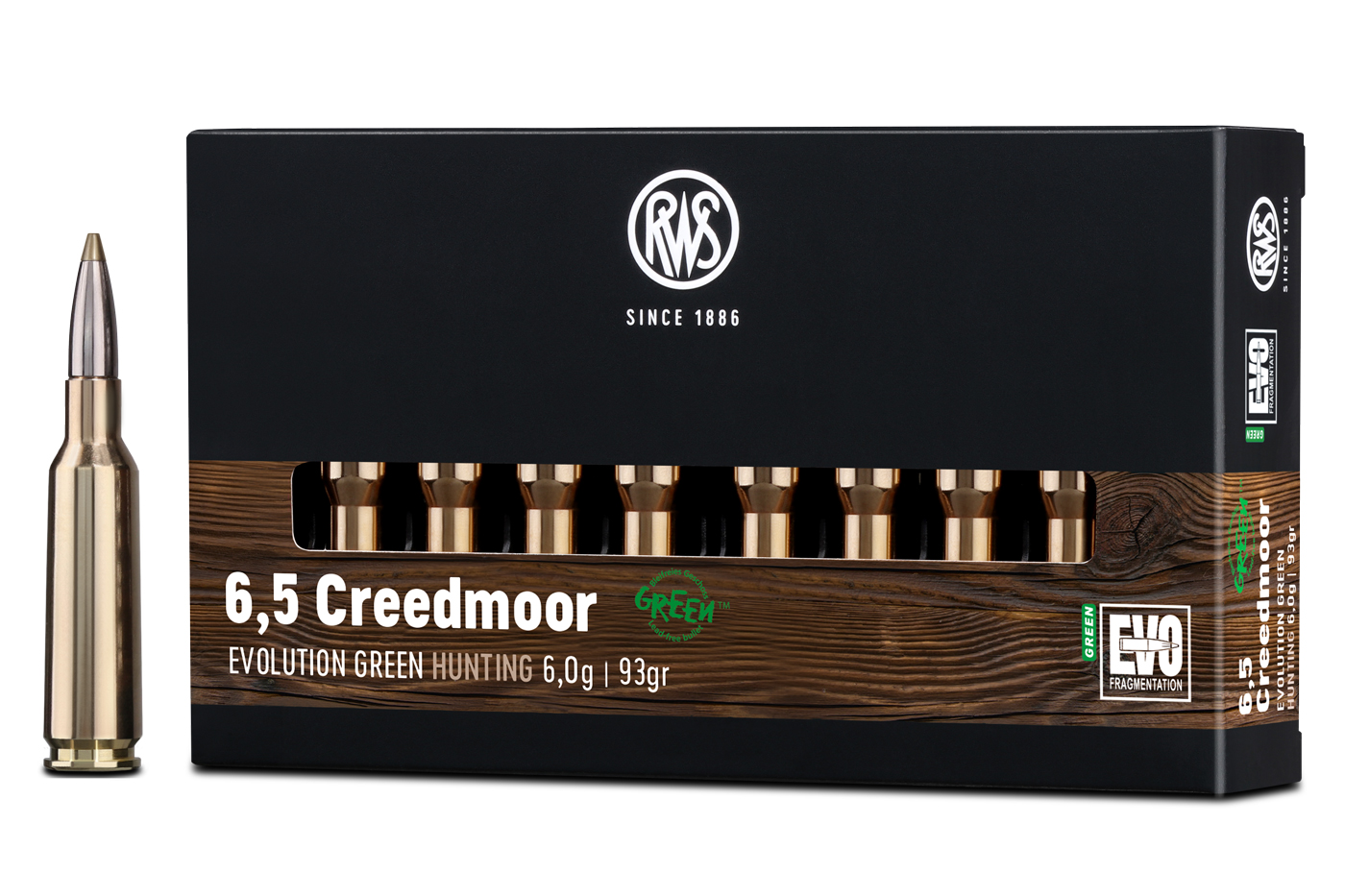 RWS 6,5 Creedmoor EVOLUTION GREEN