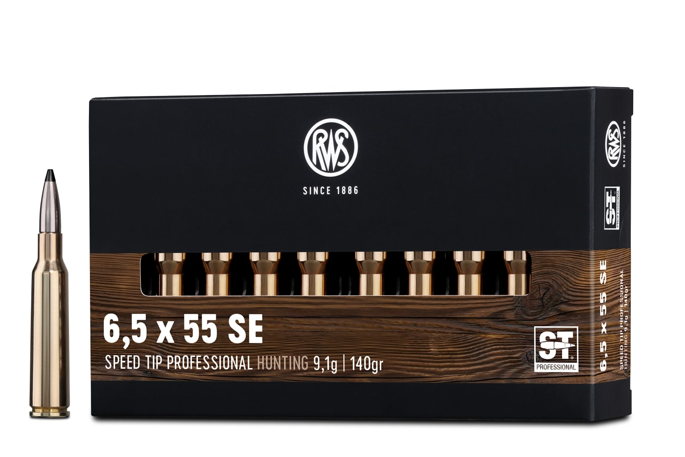 RWS 6,5 x 55 SE Creedmoor SPEED TIP PROFESSIONAL