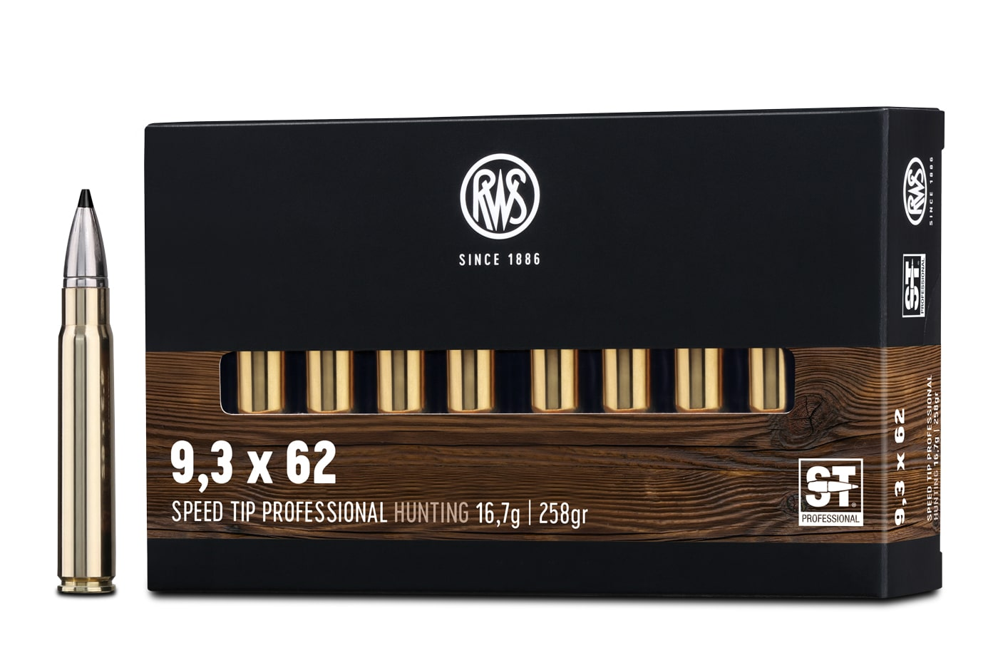 RWS 9,3 x 62 SPEED TIP PROFESSIONAL