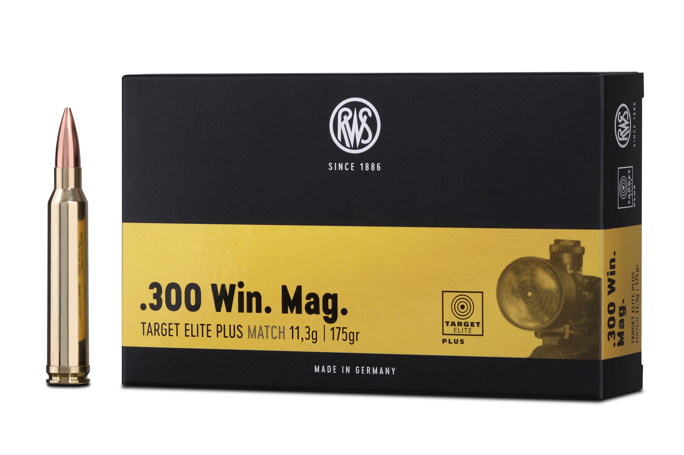 RWS TARGET ELITE PLUS in .300 Win. Mag.