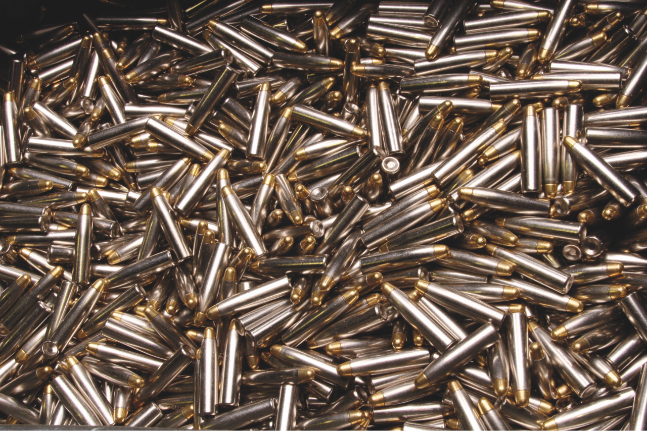 bundle of rifle cartridges