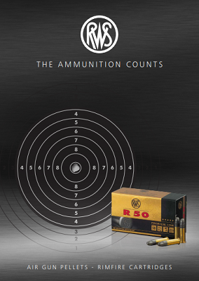 Cover of the RWS sport ammo brochure