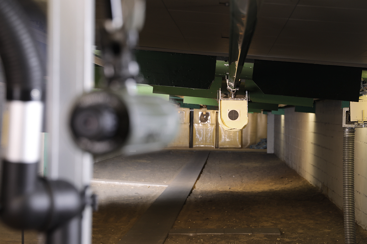 A glance at our RWS test shooting range